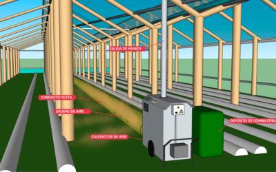 Sistemas de calefacción para invernaderos